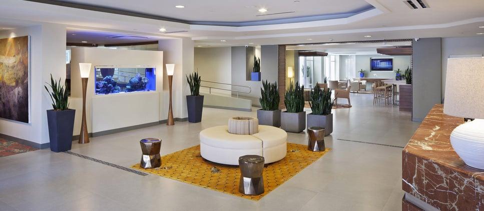 Lobby Hotel Condado Palm