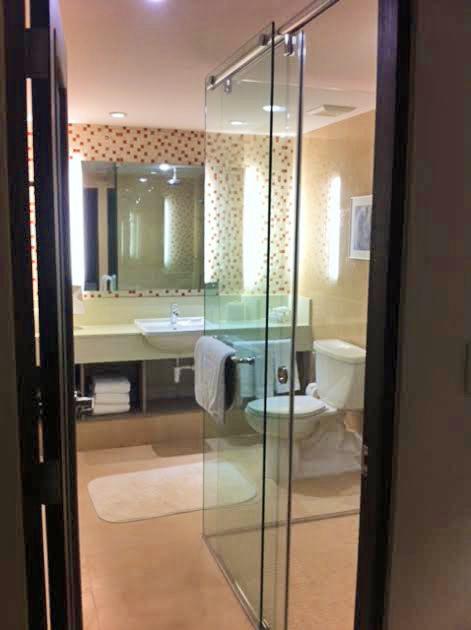 Marriott Hotel baños de las habitaciones